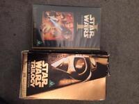 Star Wars VHS set + Phantom Menace