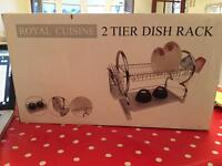 2 Tier Dish Rack for sale