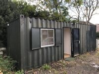 For Sale: Site Office Storage Container Combo