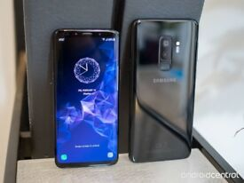 Perfect condition Galaxy s9 Midnight black