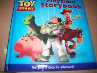 complete story of toy story from the film