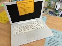 """Macbook A1181 13"""" 2008 Intel Core 2 Duo @2.10GHz 4GB 160GB HD £169"""