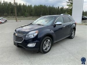 2017 Chevrolet Equinox Premier 5 Passenger All Wheel Drive, 2.4L