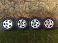 Genuine Audi A3 Alloy Wheels And Tyres. 5x100 Pcd Vw,seat,skoda