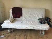 Two-seat sofa-bed, Gräsbo white, IKEA PS HÅVET