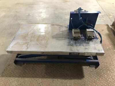 Vestil At-10 Hydraulic Lift Table 200lb 39.5 X 20 X 23
