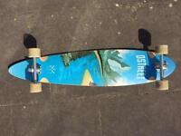 "DStreet ""Journey Freedom"" Pintail (Longboard Skateboard). Barely Used."