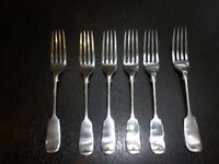 Vintage/antique cutlery (Bengal/Bombay silver, 1920s/30s) £15 for the lot!