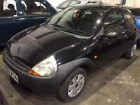 2003 FORD KA WITH FULL LEATHER SPARES OR REPAIRS SHORT MOT