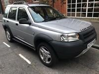 LAND ROVER FREELANDER GS TD4 2002 WITH FUUL SERVICE HISTORY MOT AND PRIVATE PLATES