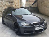 ✅ BMW 335D M SPORT TOURING + PAN ROOF + SAT NAV + XENONS + H/LEATHERS (330D/530D/535D/AUDI S3 S4)