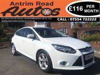 2012 FORD FOCUS ZETEC 1.6 TDCI ** NEW MODEL ** FINANCE AVAILABLE WITH NO DEPOSIT **