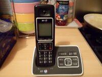 BT digital single handset phone/answermachine