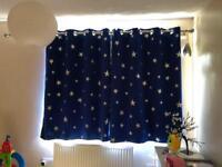 Blackout curtains 137x116 cm