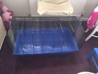 Indoor rabbit ~ guinea pig cage