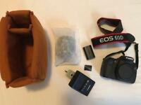 Canon EOS 60D - Mint Condition - 18-55mm Lens, 16gb Card, Camera Bag and Charger Included