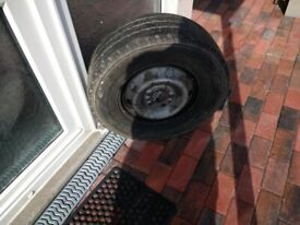 Spare wheel for Fiat Ducato X250 Van/Motorhome