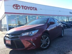 2015 Toyota Camry SE, Off Lease, One Owner, BU Camera, Alloy Whe