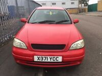 VAUXHALL ASTRA VAN 1.7DTI 2000 X REG NO MOT REQUIRES ATTENTION £250