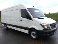 MERCEDES-BENZ SPRINTER 2.1 313 CDI LWB 129 BHP FULL HISTORY, LOW MILEAGE (white) 2015