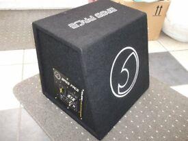 Kicker twin sub 2400w with GTO 600w amp in good working