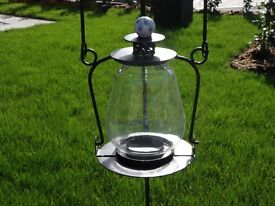 Set of 8 Garden lanterns with shepards crooks