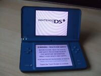 Nintendo DSi XL Blue Console ONLY - NO ACCESSORIES