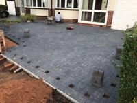 Builders driveways patio chimney plaster skimming garden fencing garden turfing