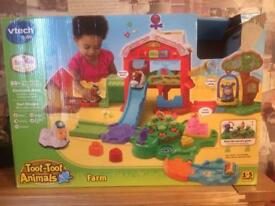 Fisher Price toot toot set
