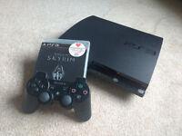 PS3 Slim 160gb w/ Skyrim & 1 Controller