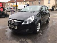 Vauxhall Corsa 1.2 Petrol Manual 5 Door Hatchback Black 2008 Stunning Low Mileage Car
