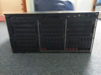 HP Proliant ML350 G9 Tower Server, Xeon E5-2620v4 8 core, 16GB RAM, 16x SFF bays