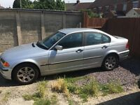 Silver BMW with Full 12 Months MOT Great looking BMW 3si 1.9 Wity a full 12 months MOT 19/07/16. P