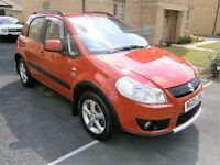 2008 SUZUKI SX4 4X4GRIP ONE OWNER FROM NEW FULL FULL DEALER SERVICE HISTORY