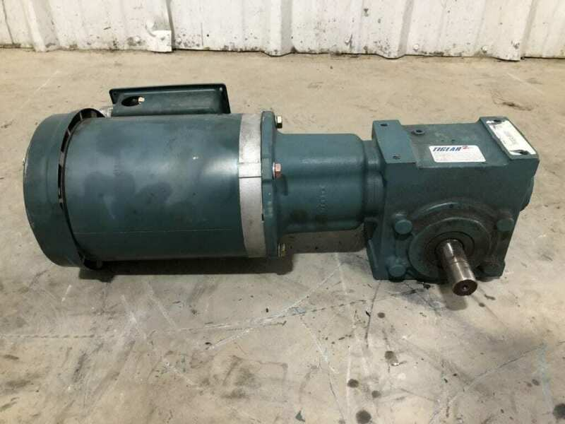 Dodge Tigear 2 20S20R Gear Drive/Speed Reducer 796lb-in 20:1 / 1HP 1725RPM 3PH