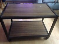 Wheeled tv stand or caddy
