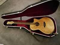 Luna Paradise Electroacoustic guitar