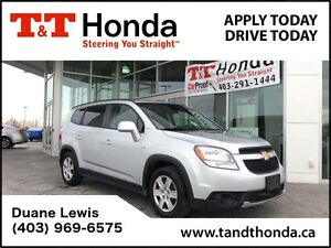 2012 Chevrolet Orlando 1LT *No Accidents, 7 Pass, 1 Owner