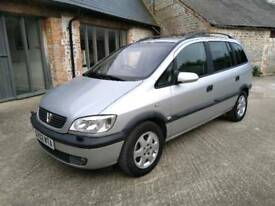 Vauxhall zafira elegance 1.8 petrol top spec 7 seater