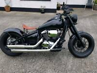 2008 Kawasaki vn900 custom bobber full yr mot mint condition! one off may px