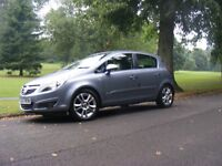 2007 plate vauxhall corsa sxi 5dr with f.s.history/full mot