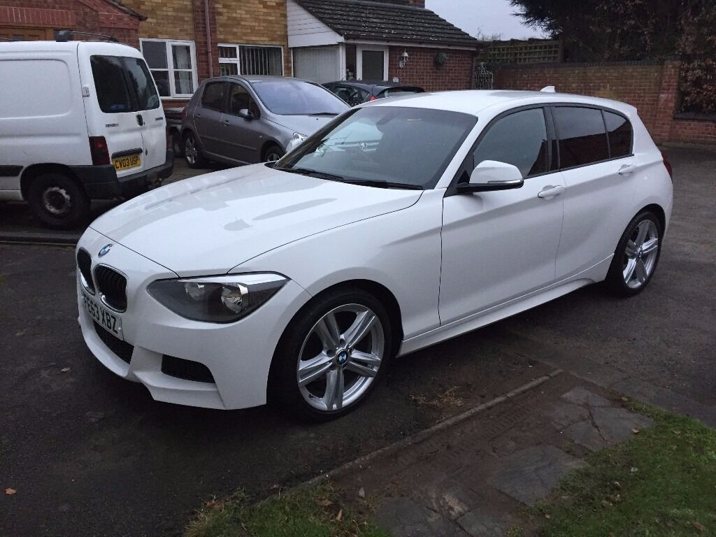 bmw f20 116d m sport 5 door hatchback alpine white o n o in coventry west midlands gumtree. Black Bedroom Furniture Sets. Home Design Ideas