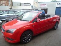 Ford FOCUS CC,1997 cc convertible,stunning looking car,runs and drives very well,only 76k