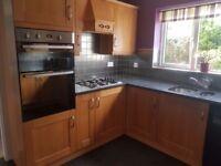 Kitchen with granite work tops