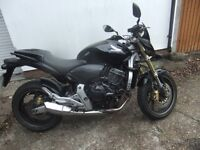 Honda CB600 Hornet FA-8 2009 two owners datatool 4 alarm fitted