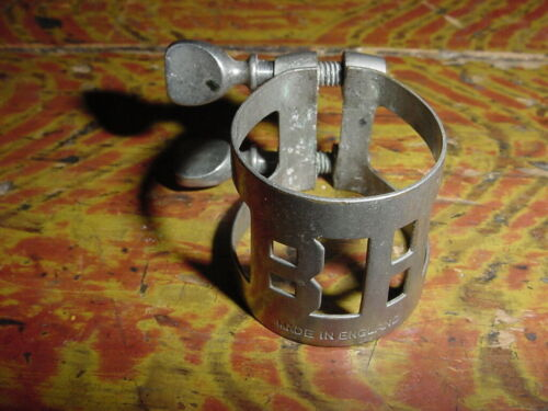 VINTAGE CLARINET LIGATURE BOSEY AND HAWKES MADE IN ENGLAND