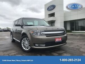 2014 Ford Flex SEL, DVD, Moonroof, Nav, Leather!