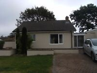 Two bedroom bungalow in popular village location, Witheridge, Devon