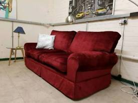 Laura Ashley large two seater sofa in villan