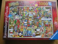Jigsaw puzzle: The Christmas Cupboard, 1000 pieces.